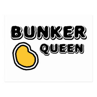Bunker Queen Postcard