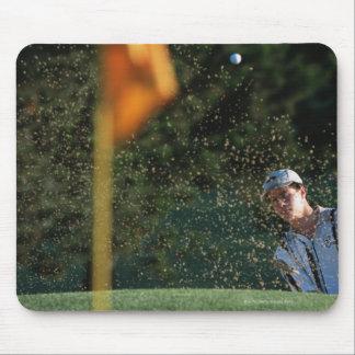 Bunker shot (Golf) Mouse Pad
