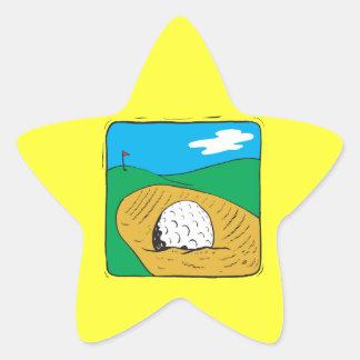 Bunker Star Sticker