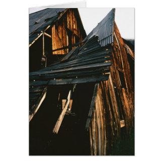 Bunkhouse viejo en las montañas de San Juan Felicitacion