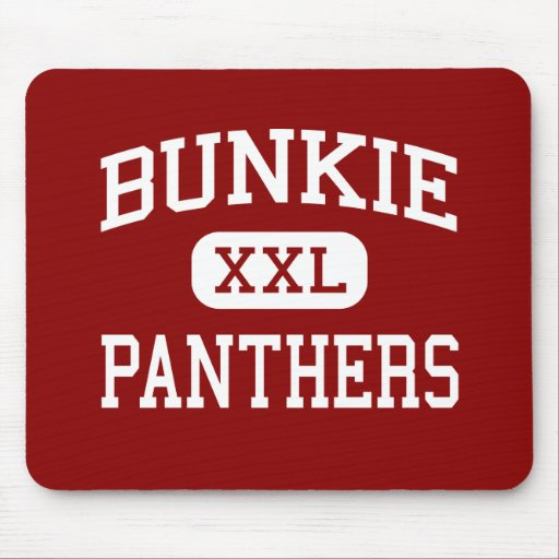 Bunkie - Panthers - High School - Bunkie Louisiana Mouse Pads
