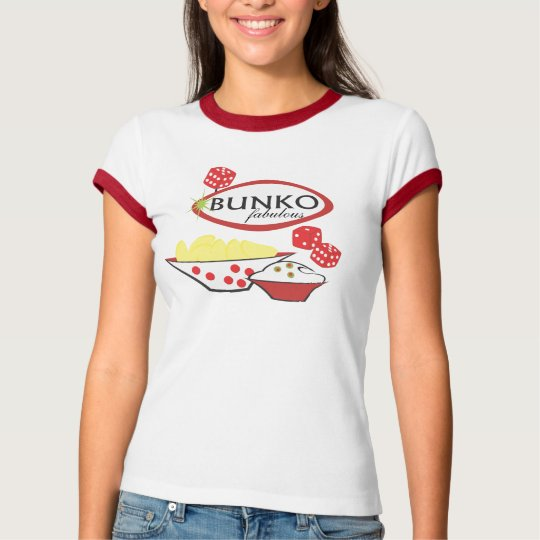 Bunko Fabulous Chips and Dip T-Shirt