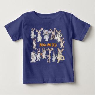 Bunlimited Cartoon Rabbits Funny Baby Baby T-Shirt
