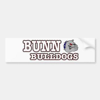 Bunn Bulldogs Bumper Sticker