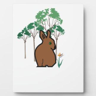 Bunn Bunny Plaque