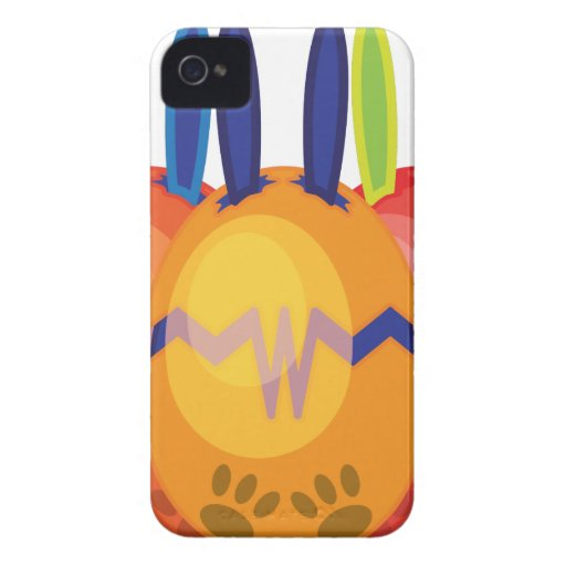 BUNN-EGG Mons007.png Case-Mate iPhone 4 Case