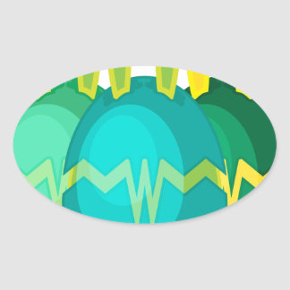 BUNN-EGG Mons010.png Oval Stickers