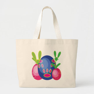 BUNN-EGGT001.png Large Tote Bag