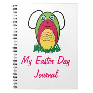 BunnBunny Spiral Notebook