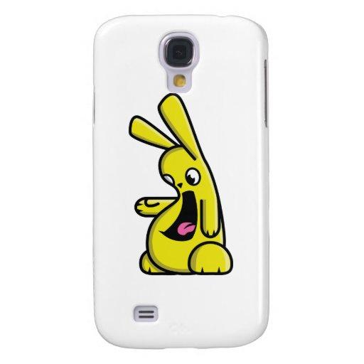 ¡Bunneh! - amarillo - dejado Funda Para Galaxy S4
