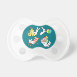 Bunnies at the Beach Pacifier