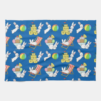 Bunnies at the Beach Towel