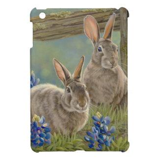 Bunnies & Bluebonnets iPad Mini Case
