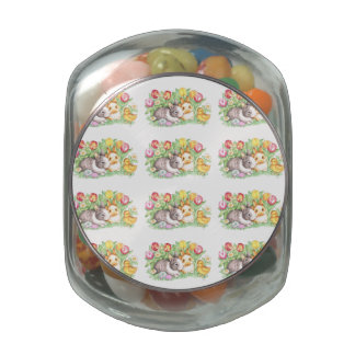Bunnies & Chick Easter Jellybeans Jelly Belly Tin
