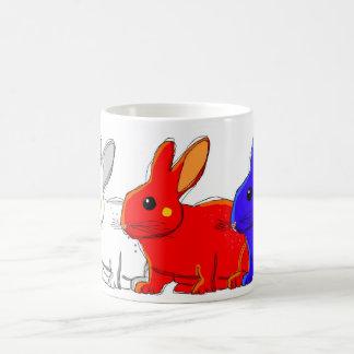 bunnies. coffee mug