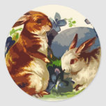 Bunnies Easter Stickers