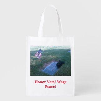 Bunnies For Vets! Reusable Grocery Bag