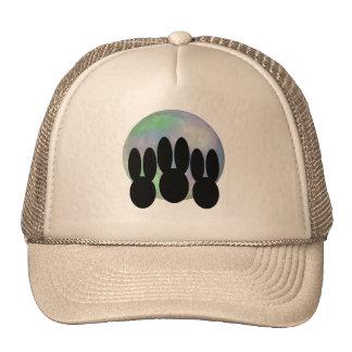 Bunnies Howling at Moon Trucker Hat