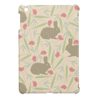 Bunnies in the Garden Pattern Case For The iPad Mini