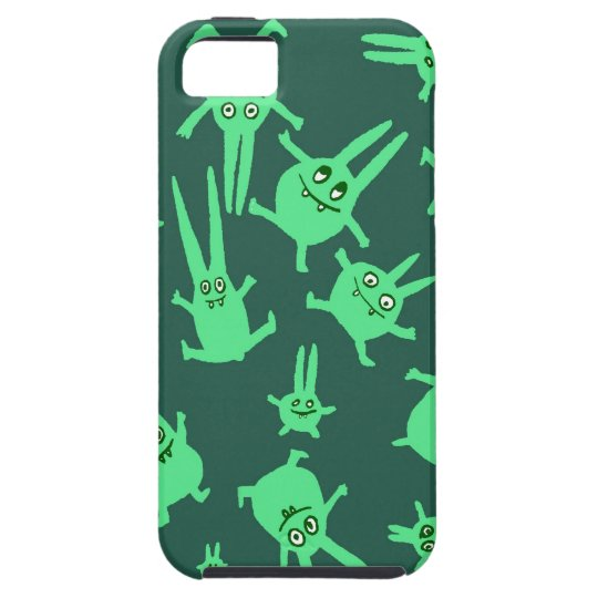 bunnies in weightlessness iPhone SE/5/5s case