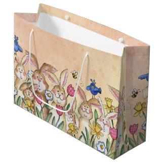 Bunnies Large Gift Bag