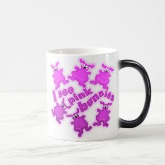 bunnies magic mug