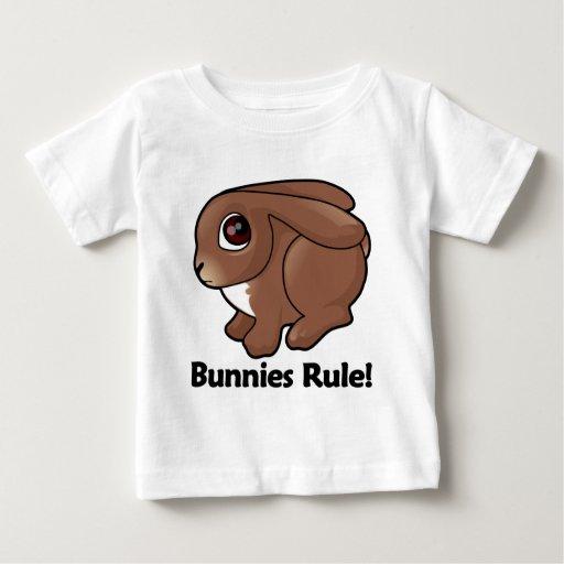 Bunnies Rule! Baby T-Shirt