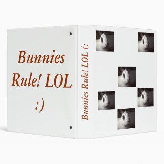 Bunnies Rule! Binder