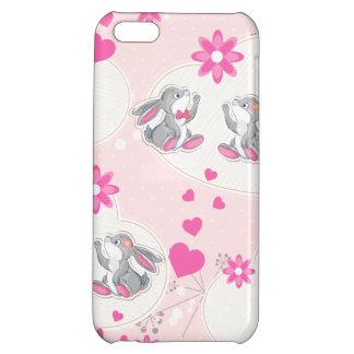 Bunnies sending Love Case For iPhone 5C