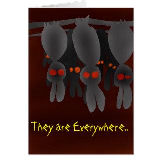 Bunnies Slumber Greeting Card
