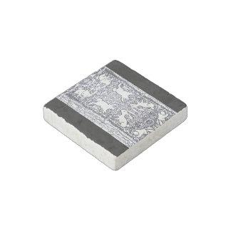 Bunnies Stone Magnet