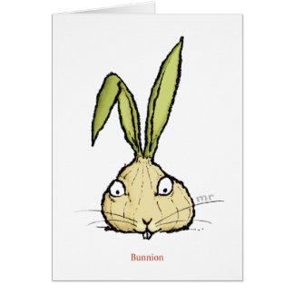 Bunnion Card