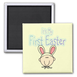Bunny 1st Easter (boy) Tshirts and Gifts Magnets