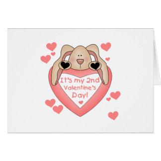 Bunny 2nd Valentine's Day Card
