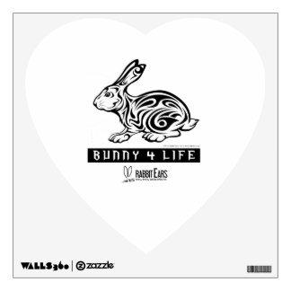 Bunny 4 Life Wall Decal
