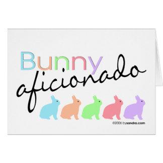 Bunny Aficionado Card