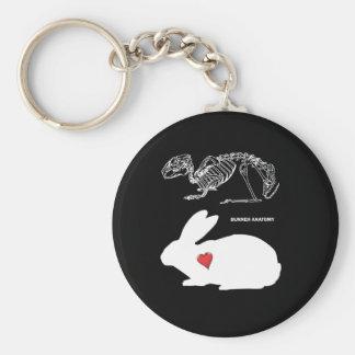Bunny Anatomy Keychain
