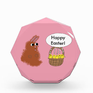 Bunny and Chicks Happy Easter Award