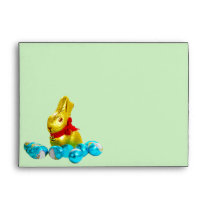 Bunny and Eggs Envelope