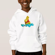 Bunny and Eggs Kids Hoodie