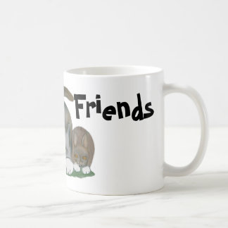 Bunny and Kitten are Best Friends Coffee Mug