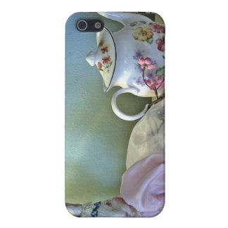 Bunny And Teapot Phone Cover iPhone 5 Cases