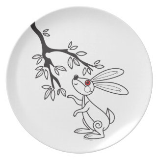 Bunny and Tree Plate