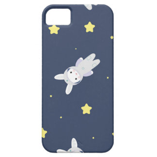 Bunny-astronaut in open space iPhone SE/5/5s case
