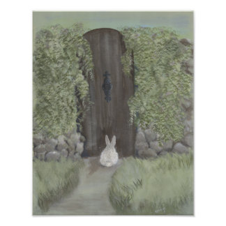 Bunny at the Gate - Print