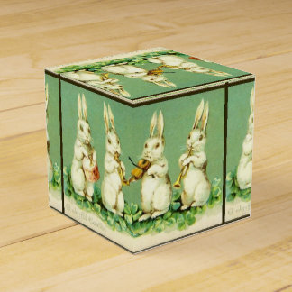 Bunny Band party Favor Box