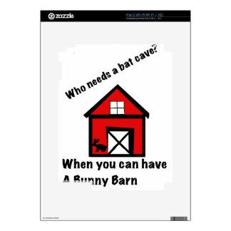 Bunny barn iPad 2 decals