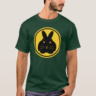 Bunny Beacon - whiskers on front and tail on back T-Shirt