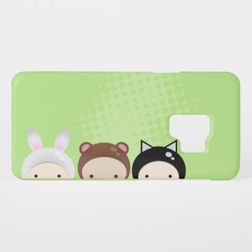 bunny bear and cat Case-Mate samsung galaxy s9 case