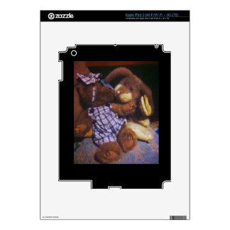 Bunny & Bear love iPad 3 Decal
